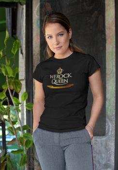 WE ROCK Queen Fan-Shirt - Women