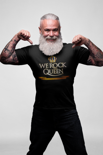 Offizielles Fan-Shirt WE ROCK Queen