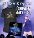 WE ROCK Queen Fanpack Women - Shirt+CD
